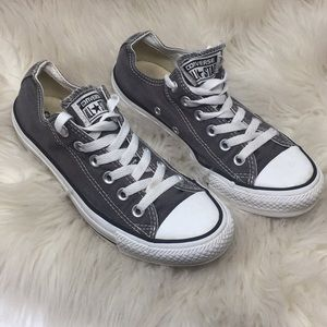 Women's Grey Converse Sneakers Shoes ✨